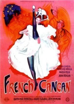 Киноафиша Французский канкан (French Cancan)