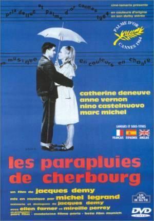 Обложка к фильму Шербурские зонтики (Parapluies de Cherbourg, Les)