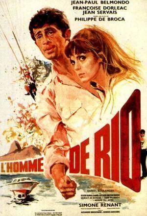 Обложка к фильму Человек из Рио (Homme de Rio, L')
