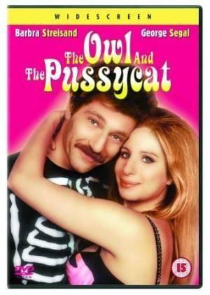 Обложка к фильму Филин и кошечка (The Owl and the Pussycat)