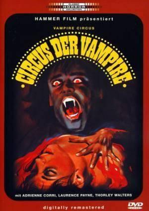 Обложка к фильму Цирк вампиров (Vampire Circus)