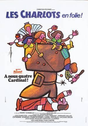 Лучшие фильмы   Четверо против Кардинала (Charlots en folie: À nous quatre Cardinal!, Les)