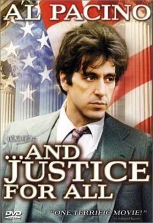 Обложка к фильму И правосудие для всех (...And Justice for All.)