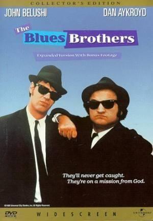Обложка к фильму Братья Блюз (The Blues Brothers)