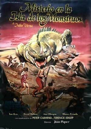 Обложка к фильму Тайна острова чудовищ (Monster Island)