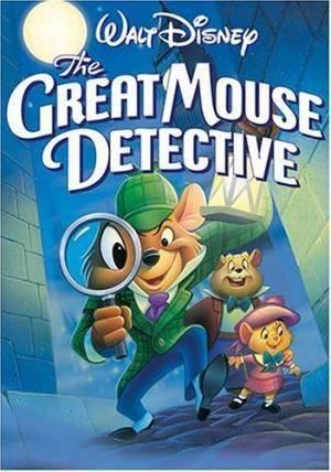 Обложка к фильму Великий мышиный детектив (The Great Mouse Detective)