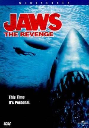 Обложка к фильму Челюсти 4: Месть (Jaws: The Revenge)