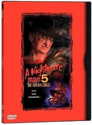 Обложка к фильму Кошмар на улице Вязов 5: Дитя снов (A Nightmare on Elm Street: The Dream Child)