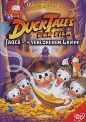 Обложка к фильму Утиные истории: Сокровища потерянной лампы (DuckTales: The Movie - Treasure of the Lost Lamp)