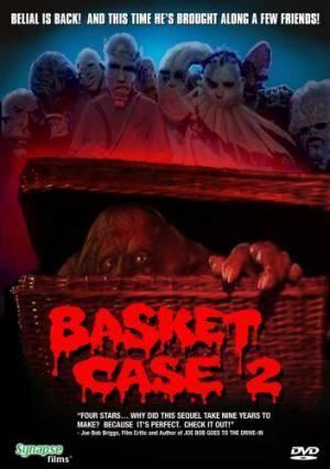 Обложка к фильму Существо в корзине 2 (Basket Case 2)