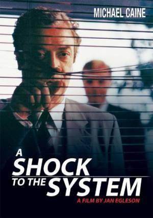 Обложка к фильму Удар по системе (A Shock to the System)