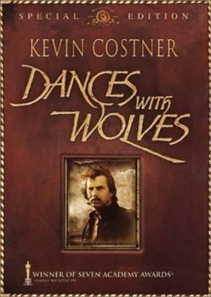 Обложка к фильму Танцы с волками (Dances with Wolves)