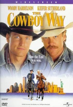 Киноафиша У ковбоев так принято (The Cowboy Way)