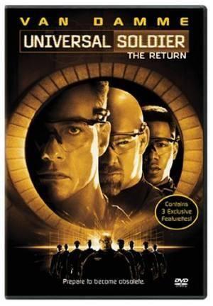 Обложка к фильму Универсальный солдат 2: Возвращение (Universal Soldier: The Return)