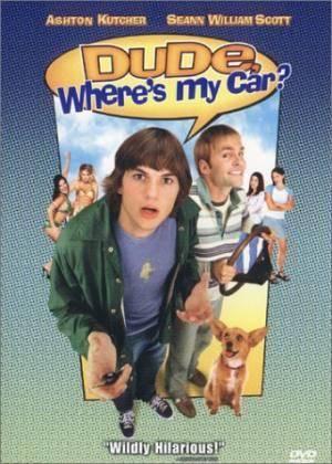 Обложка к фильму Где моя тачка, чувак? (Dude, Where's My Car?)
