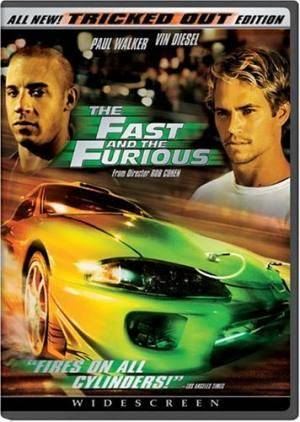 Киноафиша Форсаж (The Fast and the Furious)