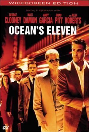 Обложка к фильму 11 друзей Оушена (Ocean's Eleven)