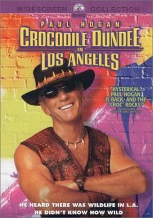 Киноафиша Крокодил Данди в Лос-Анджелесе (Crocodile Dundee in Los Angeles)