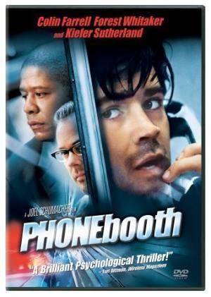 Обложка к фильму Телефонная будка (Phone Booth)
