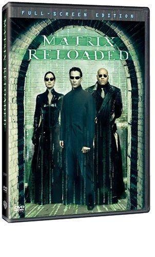 Обложка к фильму Матрица 2: Перезагрузка (The Matrix Reloaded)