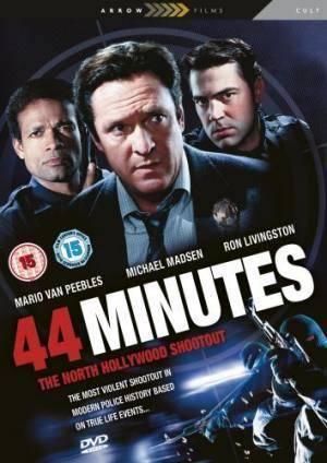 Обложка к фильму 44 минуты (44 Minutes: The North Hollywood Shoot-Out)