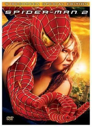 Обложка к фильму Человек паук 2 (Spider-Man 2)