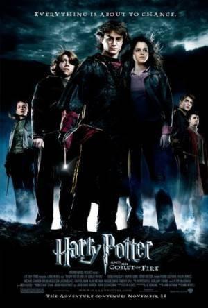 Обложка к фильму Гарри Поттер и кубок огня (Harry Potter and the Goblet of Fire)