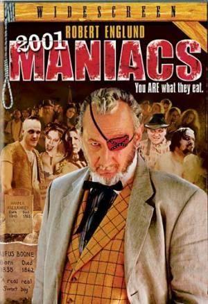 Обложка к фильму 2001 Маньяк (2001 Maniacs)