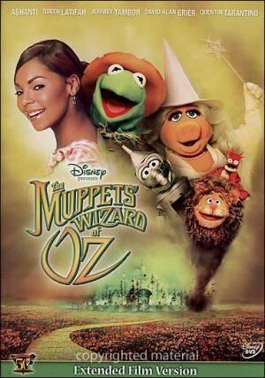 Обложка к фильму Шоу Маппетов: Волшебник из страны Оз (The Muppets' Wizard of Oz)