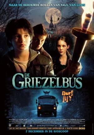 Обложка к фильму Мальчик-оборотень и волшебный автобус (Griezelbus, De)