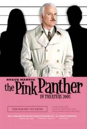 Обложка к фильму Розовая пантера (The Pink Panther)