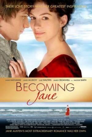 Киноафиша Становясь Джейн (Becoming Jane)