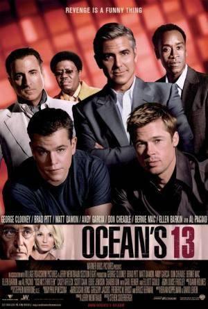 Обложка к фильму 13 друзей Оушена (Ocean's Thirteen)